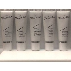 Dr.Spiller Cream Mask Set of 5 : Azulen, Honey, Cellular,...