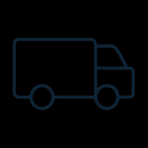 Full tracking details for all parcels
